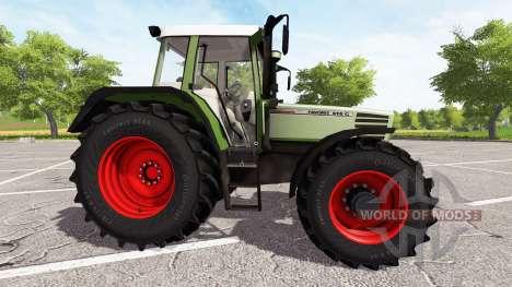Fendt Favorit 515C Turbomatic für Farming Simulator 2017
