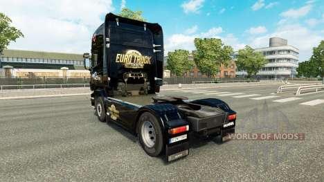 Haut Euro Truck Simulator für LKW Scania für Euro Truck Simulator 2