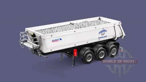 Semi-remorque benne Schmitz Cargobull Buhler pour Euro Truck Simulator 2