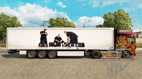 La peau BUG Mafia pour les remorques pour Euro Truck Simulator 2