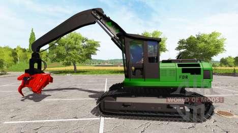 Bagger-harvester baumeln für Farming Simulator 2017
