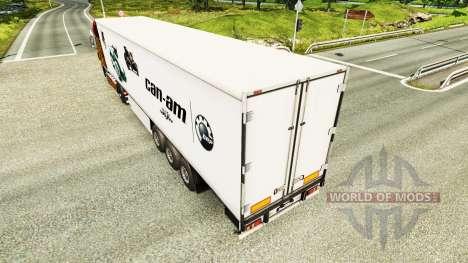 La peau Peut-Am sur semi pour Euro Truck Simulator 2