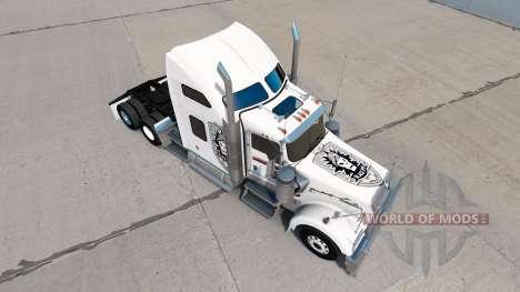 Skin-Black Ops v1 auf dem truck-Kenworth W900 für American Truck Simulator