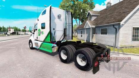 Haut DFS-Sattelschlepper Peterbilt 387 für American Truck Simulator