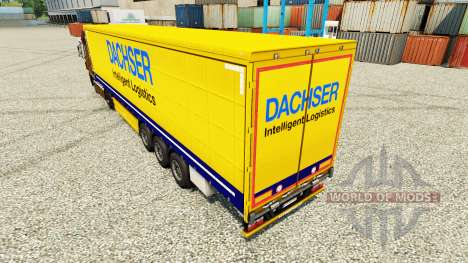 Dachser skin for bande-annonce pour Euro Truck Simulator 2