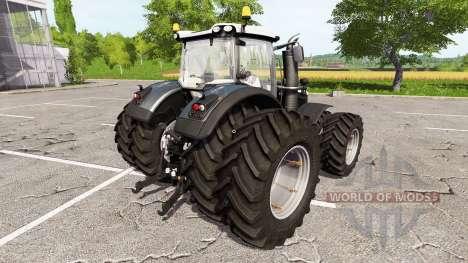 Massey Ferguson 8737 black edition pour Farming Simulator 2017