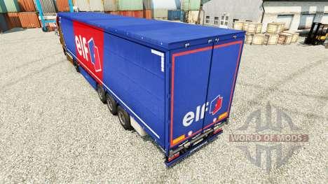 La peau de l'Elfe sur semi pour Euro Truck Simulator 2