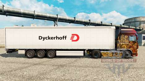 Dyckerhoff skin for trailers für Euro Truck Simulator 2