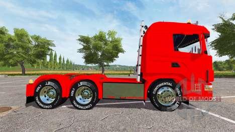 Scania 124L 440 agrar 6x4 pour Farming Simulator 2017