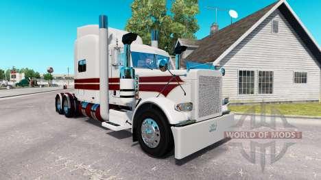Le Chevalier Blanc de la peau pour le camion Pet pour American Truck Simulator
