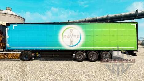 La peau de Bayer pour les semi-remorques pour Euro Truck Simulator 2