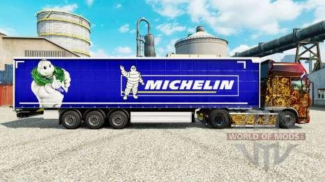 Haut auf Michelin-semi-Trailer für Euro Truck Simulator 2