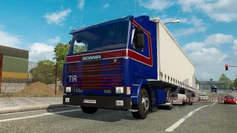 Eine Sammlung von LKW-Transport-Verkehr v1.5 für Euro Truck Simulator 2