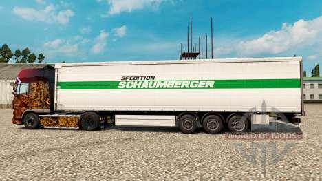 Spedition Schaumberger Haut für Anhänger für Euro Truck Simulator 2