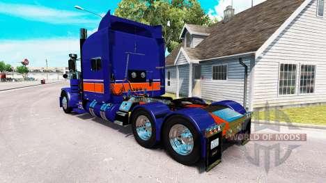 Rollin de Transport de la peau pour le camion Pe pour American Truck Simulator