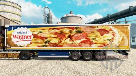 Haut für Wagner semi für Euro Truck Simulator 2