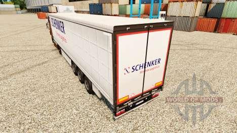 La peau Schenker Stinnes de la Logistique pour l pour Euro Truck Simulator 2