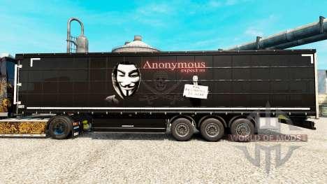 De la peau par un Anonyme sur le semi pour Euro Truck Simulator 2