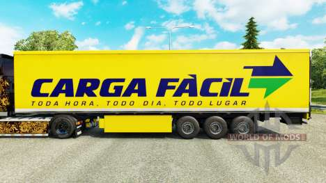 Haut Carga Facil auf semi für Euro Truck Simulator 2