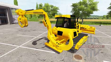 La foresterie chenilles des bulldozers pour Farming Simulator 2017