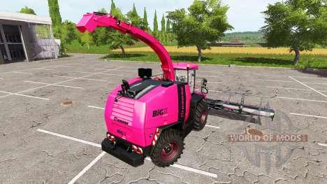Krone BiG X 1100 pink pour Farming Simulator 2017