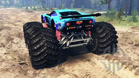 Ford GT [monster truck] für Spin Tires