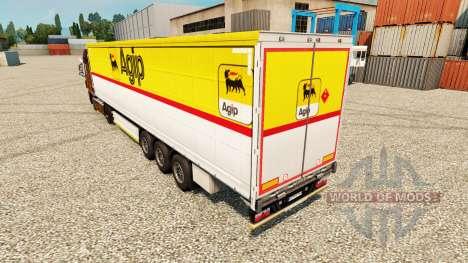 Haut Agip für Anhänger für Euro Truck Simulator 2