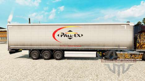 Haut Pall-Ex Vorhang-semi-trailer für Euro Truck Simulator 2