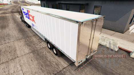 FedEx Haut-extended trailer für American Truck Simulator