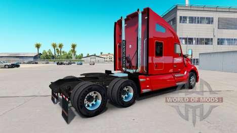 Скин Chevalier de Transport на Kenworth T680 pour American Truck Simulator