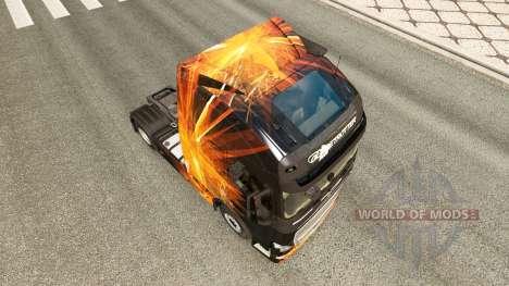 Cubique, les Reflets de la peau pour Volvo camio pour Euro Truck Simulator 2