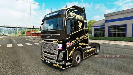 John Player Special peau pour Volvo camion pour Euro Truck Simulator 2