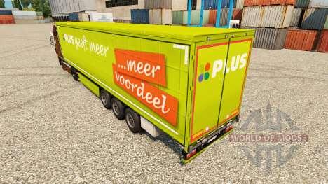 Skin PLUS semi pour Euro Truck Simulator 2