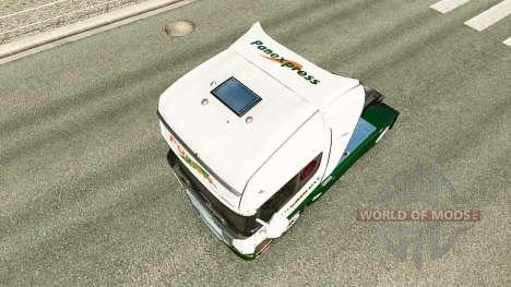 Haut Panexpress auf Zugmaschine Scania für Euro Truck Simulator 2