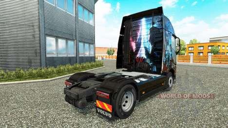 Haut Magischen Momente, die bei Volvo trucks für Euro Truck Simulator 2