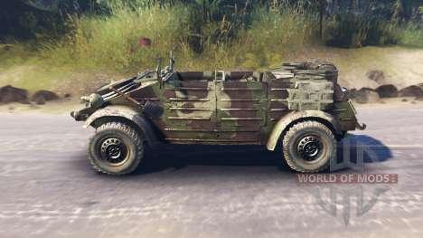 Volkswagen Typ 82 (Kubelwagen) pour Spin Tires