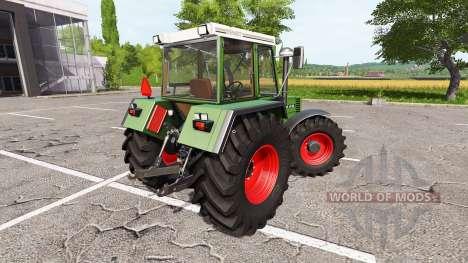 Fendt Favorit 615 LSA Turbomatik E v1.2 pour Farming Simulator 2017