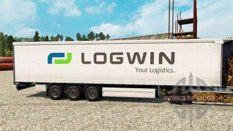 Logwin Haut für Anhänger für Euro Truck Simulator 2