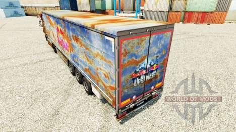 Red Bull Haut für Anhänger für Euro Truck Simulator 2