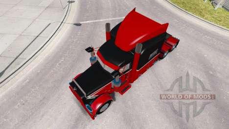 La peau de Big Et Little pour le camion Peterbil pour American Truck Simulator