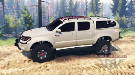 Toyota Hilux 2013 v2.0 pour Spin Tires