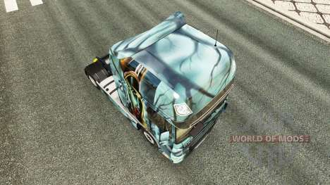 Zombie skin for DAF truck pour Euro Truck Simulator 2