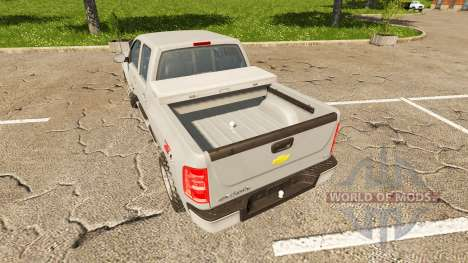 Chevrolet Silverado LT Z71 für Farming Simulator 2017