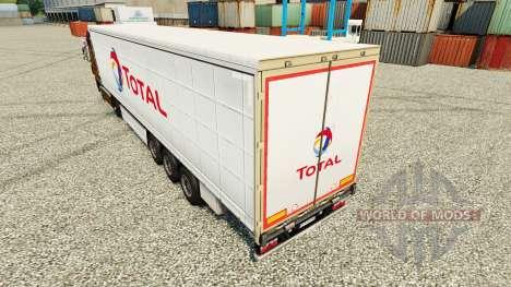 Haut Gesamten auf semi für Euro Truck Simulator 2