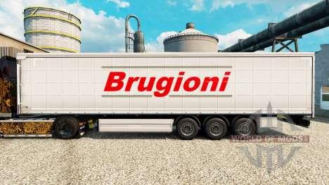 Haut Brugioni auf semi für Euro Truck Simulator 2