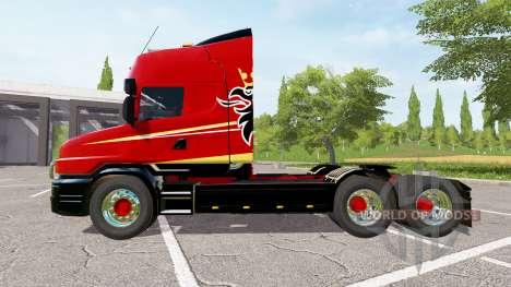 Scania T164 three-axle für Farming Simulator 2017