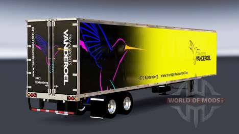 All-Metall-semi-Vanderoel für American Truck Simulator