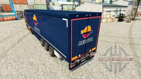 Repsol v2 skin für Trailer für Euro Truck Simulator 2