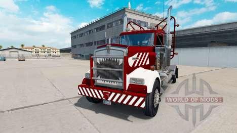 Kenworth W900 Day Cab Heavy Duty für American Truck Simulator