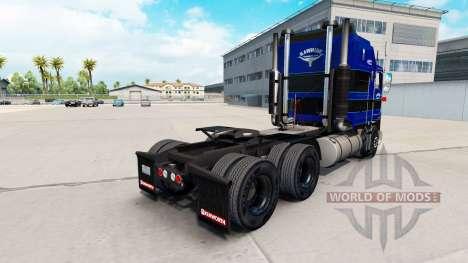 Haut auf Rawhide Trucking LLC LKW Traktor Kenwor für American Truck Simulator